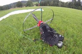 E-glider on grass